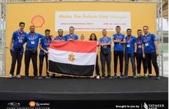 """فريق طلابي بهندسة القاهرة يفوز بجائزة الأمان بماراثون """"شل البيئي"""" بماليزيا"""