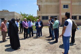 محافظ بورسعيد يحيل مسئولي مركز شباب القابوطي للتحقيق | صور