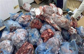 ضبط 35 كجم لحوم فاسدة في حملات تموينية بحي الخليفة قبل رمضان