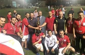 منتخب مصر يتوج ببطولة الجاليات الكروية في سلطنة عمان