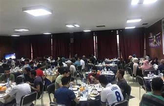 إفطار جماعي للطلاب المغتربين بجامعة أسيوط للعام الثالث| صور