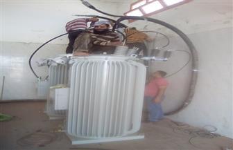 """تركيب منظم جهد كهربائي بمحطة مياه """"دمرو"""" فى المحلة بتكلفة 300 ألف جنيه   صور"""