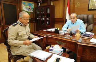 محافظ كفرالشيخ يبحث مقترح إنشاء قسم شرطة بمدينة مسير الجديدة | صور