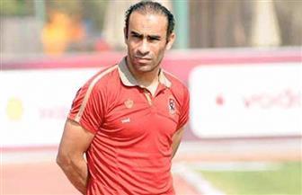 عبد الحفيظ يعقد جلسة مع بادجي عقب مران الأهلي
