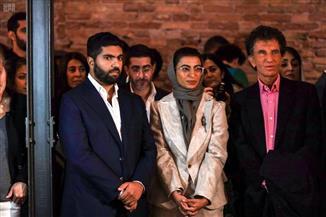 وزير الثقافة السعودي يفتتح جناح المملكة المشارك بمهرجان البندقية للفنون | صور