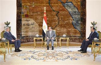 الرئيس السيسي يستقبل المشير خليفة حفتر ويبحث معه تطورات الأوضاع في ليبيا