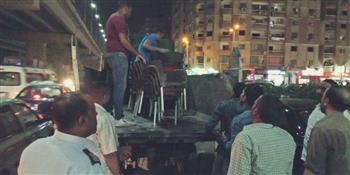 الجيزة تزيل 4 آلاف حالة إشغال بالطرق والشوارع الرئيسية وتحرير 115 محضرا | صور