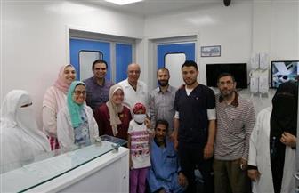 نجاح أول حالة زراعة نخاع بمستشفى أطفال المنصورة  | صور