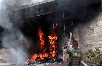 في ثاني يوم من المظاهرات.. محتجون يضرمون النار بالسفارة الأمريكية في هندوراس