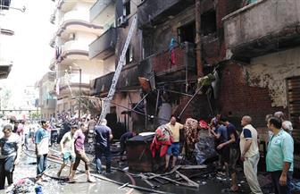 """انفجار """"تانك سولار"""" بمخبز بلدي في فوة بكفر الشيخ"""