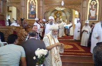 البابا تواضروس يفتتح كنيسة السيدة العذراء بالسادات ويترأس قداس الصلاة | صور