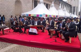 فرقة سوهاج للموسيقى العربية تتألق بمهرجان نيروبي الثقافي   صور