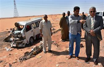 بعد مصرع 9 مواطنين.. محافظ أسوان يرفع تقريرا لمجلس الوزراء عن حالة طريق القاهرة - أسوان الغربي