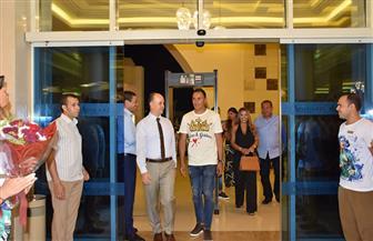 حارس مرمى ريال مدريد يدعو أصدقاءه وجماهيره لزيارة الغردقة | صور