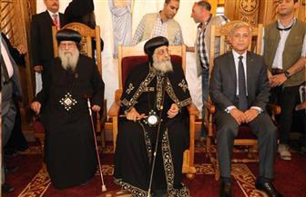 تدشين كنيسة السيدة العذراء بالسادات بحضور البابا تواضروس | صور
