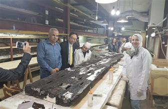 رئيس الجايكا في الشرق الأوسط وأوروبا يزور مشروع مركب خوفو الثانية   صور