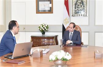 الرئيس السيسي يعقد اجتماعا مع رئيس الوزراء.. ويوجه بتحفيز الاستثمار لدفع عملية التنمية