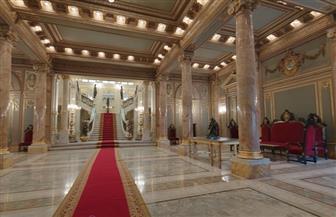شاهد على أحداث مهمة مرت بالوطن.. جولة داخل قصر عابدين بعد تجديده | فيديو