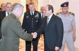 تفاصيل لقاء الرئيس السيسي مع قائد القيادة المركزية الأمريكية | صور