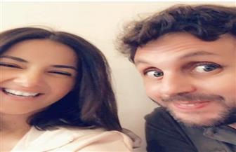 بالصور .. أحدث ظهور لدنيا سمير غانم وهشام ماجد