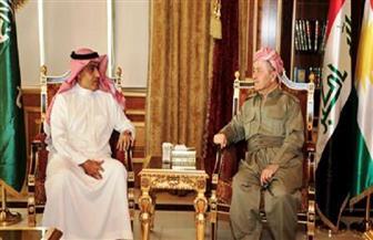 بارزاني يستقبل وزير الدولة السعودي لشئون الشرق الأوسط