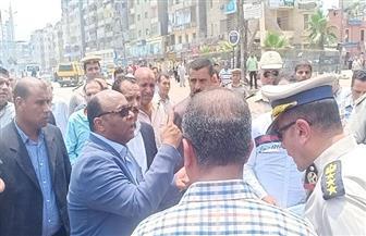 تحرير 1079 مخالفة مرورية في الطرق والشوارع بالغربية