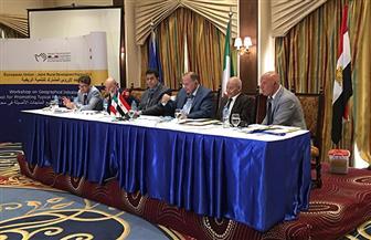 الاتحاد الأوروبي والتعاون الإيطالي ينفذان مشروعات للتنمية الريفية في ٣ محافظات مصرية| صور