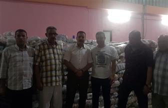 ضبط 39 طن أرز تمويني في بلطيم بكفرالشيخ قبل بيعها في السوق السوداء| صور
