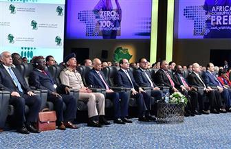 """الرئيس السيسي يشاهد فيلما تسجيليا بعنوان """"إفريقيا على طريق التنمية"""" خلال فعاليات المنتدى الأول لمكافحة الفساد"""