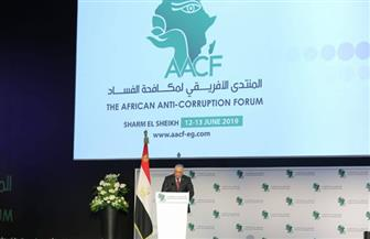 رئيس الرقابة الإدارية: نسعى للخروج بتوصيات من منتدى شرم الشيخ لمواجهة الفساد
