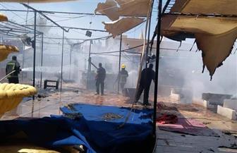 السيطرة على حريق محدود نشب بـ ٣ مقاه فى شرم الشيخ بسبب تسريب الغاز| صور