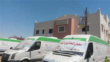 قافلة طبية شاملة في قرية العباسية بدمياط