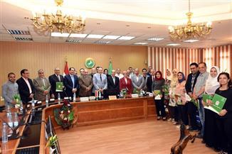 تكريم المشاركين في إعداد الخطة الإستراتيجية للتميز الحكومي بالشرقية