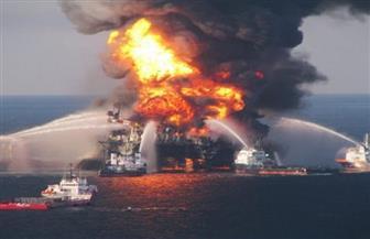 """""""الشحن البحري"""": النيران لا تزال مشتعلة في ناقلتي النفط المستهدفتين بخليج عمان"""