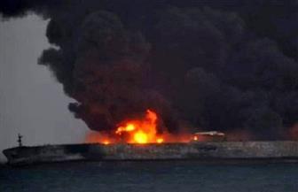 """""""رويترز"""": إحدى الناقلتين اللتين تعرضتا لهجوم غرقت بخليج عمان"""
