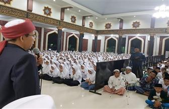 """لقاء جماهيري حاشد ينظمه فرع """"خريجي الأزهر"""" بمدينة تشربون بإندونيسيا"""
