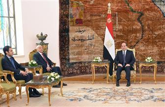 الرئيس السيسي يؤكد دعم مصر لدور عقيلة صالح ومجلس النواب بصفته المصدر الرئيسي للتشريع في ليبيا