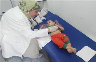 الكشف على 1500 مواطن خلال فعاليات القافلة الطبية الشاملة بدمياط | صور