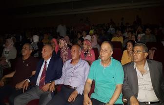إقبال كبير من أعضاء حزب مستقبل وطن لمشاهدة فيلم الممر بكفرالشيخ | صور