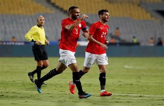 المحمدي يسجل الهدف الأول لمصر في مرمى تنزانيا