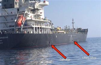 ناقلة النفط اليابانية التي تعرضت لهجوم في بحر عمان سترسو في مرفأ إماراتي