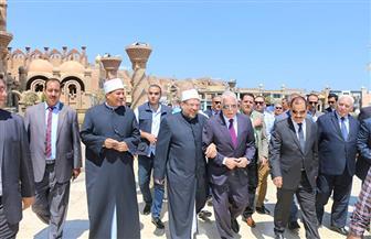 محافظ جنوب سيناء يفتتح توسعات المركز الإسلامي بمسجد الصحابة في شرم الشيخ | صور