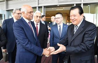 رئيس مجلس النواب يصل إلى الصين في زيارة رسمية |صور