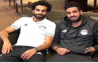"""الشناوي يهنئ محمد صلاح بعيد ميلاده الـ27 بـ""""صور"""" من ألبوم الذكريات"""