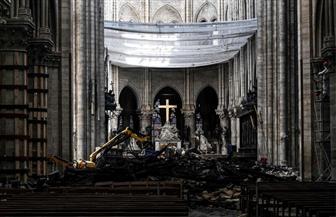 بعد شهرين من الحريق.. كنيسة نوتردام لا تزال بين الركام   صور
