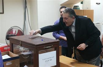 """""""الوكيل"""" يدلي بصوته في انتخابات الغرفة التجارية بالإسكندرية"""