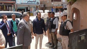 مدير أمن المنوفية يتفقد الحالة الأمنية بمركزي شبين الكوم والباجور |صور