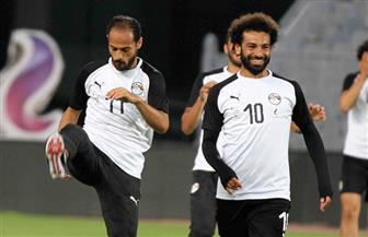 منتخب مصر يؤدي تدريباته 8 مساء استعدادا للقاء غينيا الودي