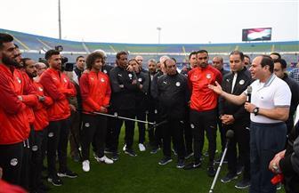 حزب المؤتمر: زيارة السيسي لنجوم الفراعنة حافز كبير لهم لانتزاع كأس البطولة الإفريقية