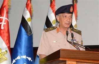 الفريق أول محمد زكى وزير الدفاع يشهد حفل تخريج دورات جديدة من كلية القادة والأركان